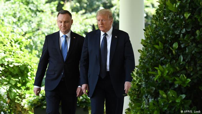 Poljski predsjednik Andrzej Duda i američki predsjednik Donald Trump