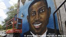 USA Wandgemälde von Ahmaud Arbery