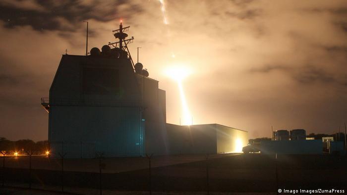 Aegis Ashore first intercept flight test