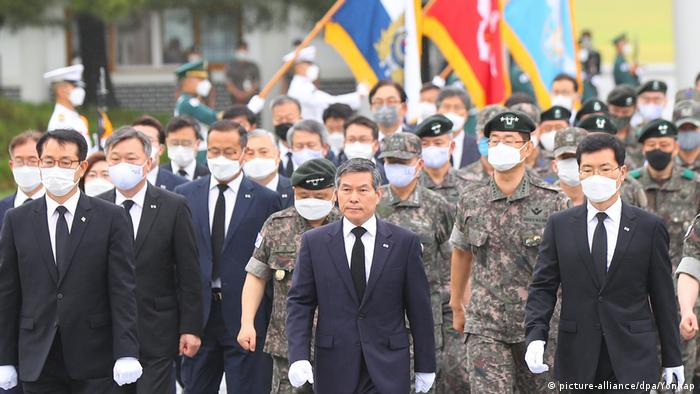 Korea Seoul | 70 Jahre nach Kriegsbeginn | Jeong Kyeong-doo (picture-alliance/dpa/Yonhap)