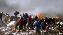 Global 3000 Südafrika: Menschen auf Müllhalde