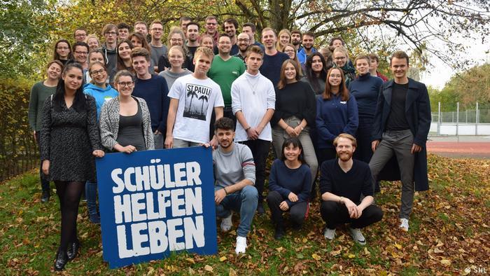 Deutschland Schüler Helfen Leben