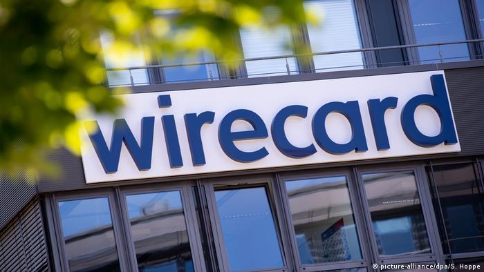Wirecard sign