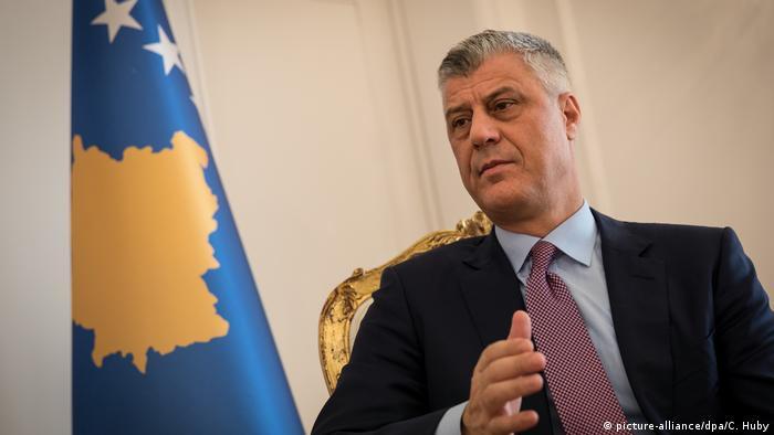 Kosovo Präsident Hashim Thaci