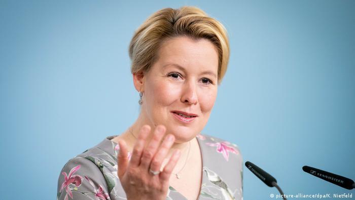 فرانسیسکا گیفای، وزیر امور خانواده آلمان از حزب سوسیال دموکرات