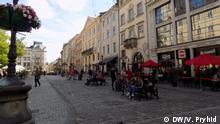 Juni 2020 Lviv nach Lockerungen der Quarantäne
