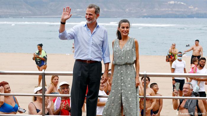 Kralj Felipe na Gran Canariji