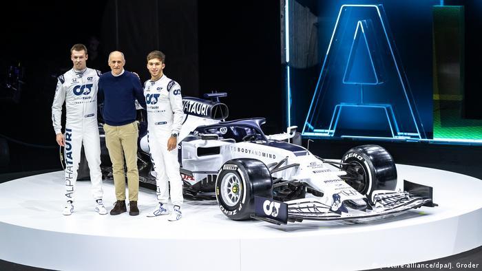 Österreich Formel-1-Rennstall Alpha Tauri (picture-alliance/dpa/J. Groder)