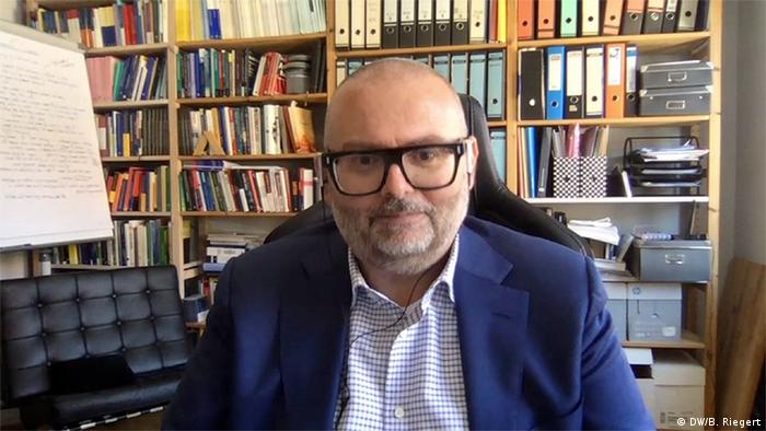 Belgien Janis Emmanouilidis, Direktor der Denkfabrik European Policy Centre in Brüssel