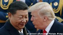 China Donald Trump und Xi Jinping