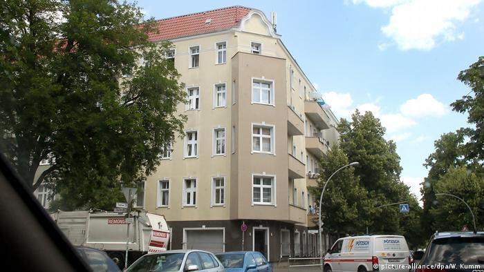 Bloco residencial em Berlim