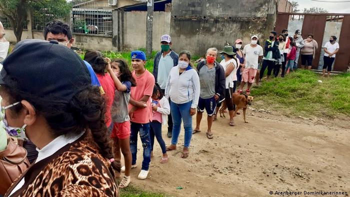 Bolivien Arenberger Dominikanerinnen | Hilfe in der Corona-Pandemie | Barrios um Santa Cruz