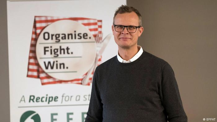 Kristjan Bragason, secretar general EFFAT