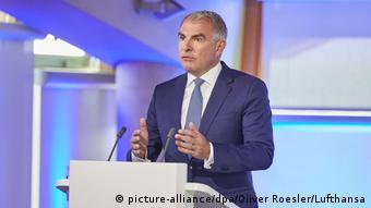 Lufthansa'nın CEO'su Carsten Spohr