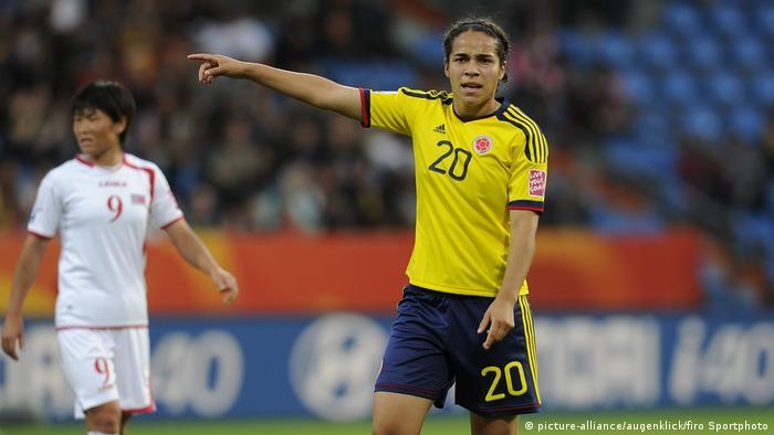 Fußball Frauen WM 2011 Nordkorea - Kolumbien (picture-alliance/augenklick/firo Sportphoto)