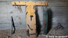 Material used for torture in an underground prison