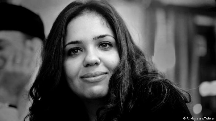 Nora Younis, editor-in-chief of the Al-Manassa news website