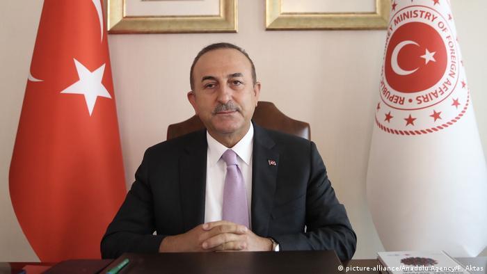 Türkei Ankara |Sudan-Videokonferenz |Mevlut Cavusoglu, Außenminister