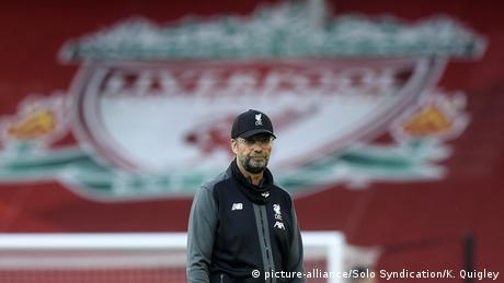 Liverpool head coach Jürgen Klopp.