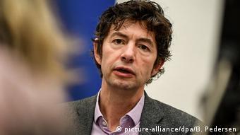 Deutschland | Gewinner Grimme Online Award | Christian Drosten, Virologe Charité Berllin (picture-alliance/dpa/B. Pedersen)