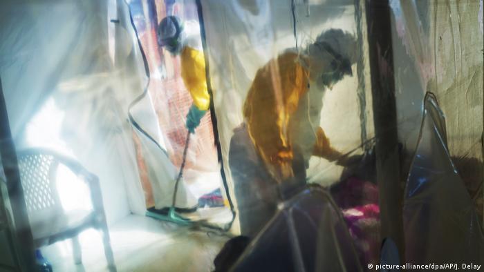 Behandlung von Ebola-Infizierten im Kongo (2019)