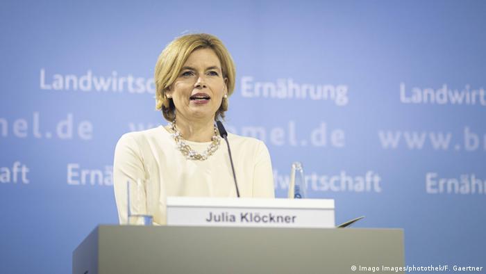 Ministra da Agricultura da Alemanha, Julia Klöckner