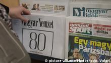 Ungarn Zeitung Magyar Nemzet