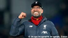 Fc Liverpool Trainer Jürgen Klopp Jubel