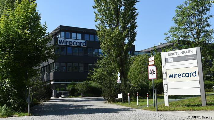 The headquarters of German payments provider Wirecard is seen in Aschheim near Munich, southern Germany, on June 24, 2020.