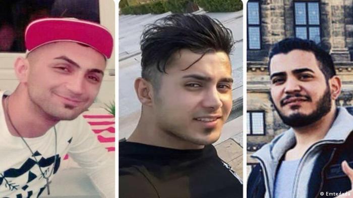 Drei zum Tode verurteilte iranische Demonstranten