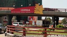 Angola Checkpoint vor Luanda