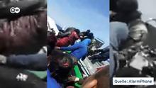 Videotitel: AlarmphoneD, Mutmaßlicher Pushback der griechischen Küstenwache am 4. Juni 2020