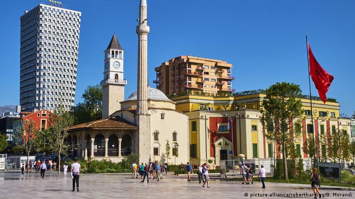 Столица Албании Тирана