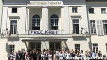 Berlin Solidaritätsaktion Kirill Serebrennikow