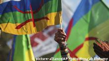Marokko Amazigh Protest COP 22