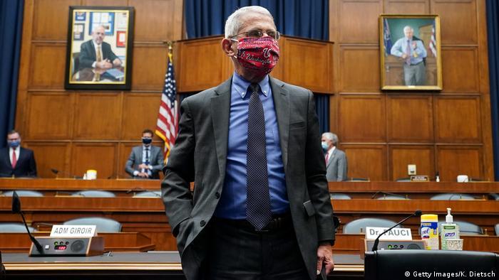 Dr. Fauci I Direktor des Nationalen Instituts für Allergien und Infektionskrankheiten (Getty Images/K. Dietsch)