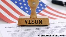 Symbolbild I US-Visum