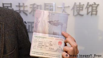 Symbolbild I US-Visum I China