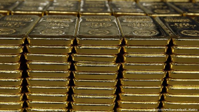 Symbolbild I Coronavirus I Goldpreis I Goldbarren
