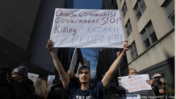 Symbolbild UN-Experten werfen China Missachtung Menschenrechte vor (Getty Images/AFP/T. A. Clary)