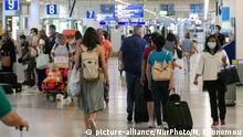 Symbolbild EU-Einreisebeschränkungen sollen für viele Länder bestehen bleiben