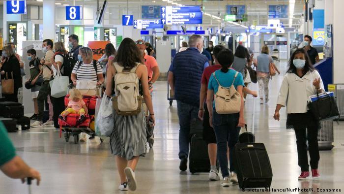 Аэропорт в Афинах, июнь 2020 года
