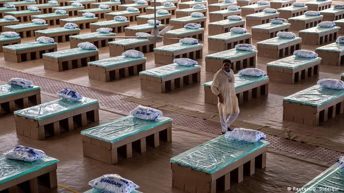 Indien Coronavirus-Ausbruch (Reuters/D. Siddiqui )