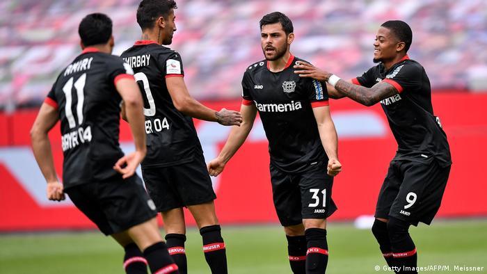 Deutschland Bundesliga Bayer Leverkusen v Mainz 05 (Getty Images/AFP/M. Meissner)