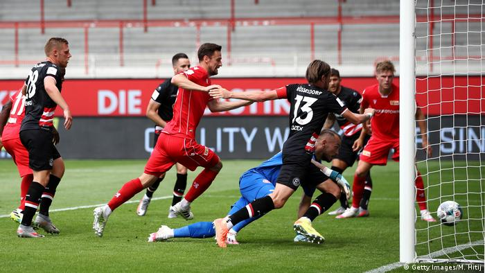 Anthony Ujah's goal made life hard for Fortuna Düsseldorf