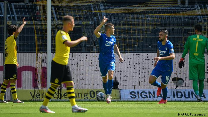 Fußball Bundesliga - Borussia Dortmund v TSG 1899 Hoffenheim Tor 0:2