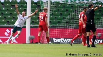 Deutschland Bundesliga Werder Bremen gegen 1. FC Köln | Tor Füllkrug (Getty Images/O. Hardt)