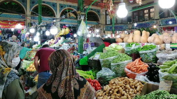 Iran Teheran | Tajrisch Bazar während der Coronakrise
