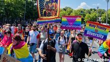 Deutschland Berlin Pride Demonstration