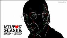 Karikatur von Vladdo | Milton Glaser